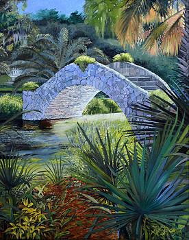 City Park Stone Bridge by Ben Bensen III