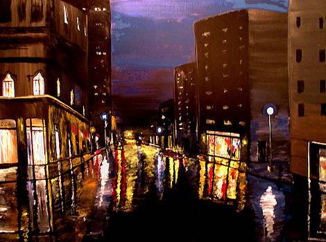 City Rain by Mark Moore