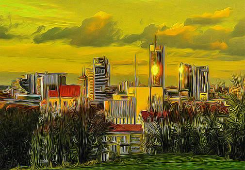 Algirdas Lukas - City Skyline 008
