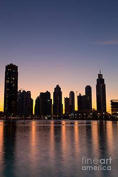Fototrav Print - City skyline from Dubai Mall