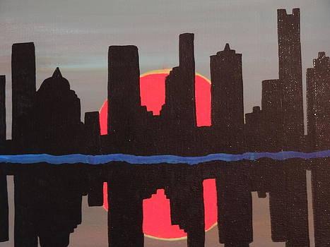 Nancy Fillip - City Skyline