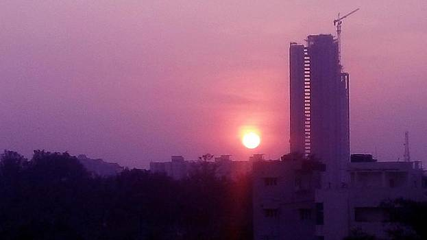 Usha Shantharam - City Sunset 1