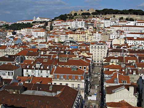 City view of Lisbon by Kiril Stanchev