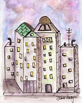 Cityscape 1 by Diane Maley