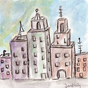 Cityscape 2 by Diane Maley