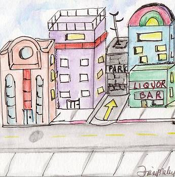 Cityscape 3 by Diane Maley