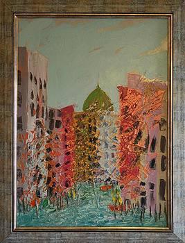 Cityscape 4 by Ioan Angel Negrean by Ioan Angel Negrean