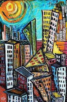 Cityscape  by Jon Baldwin  Art