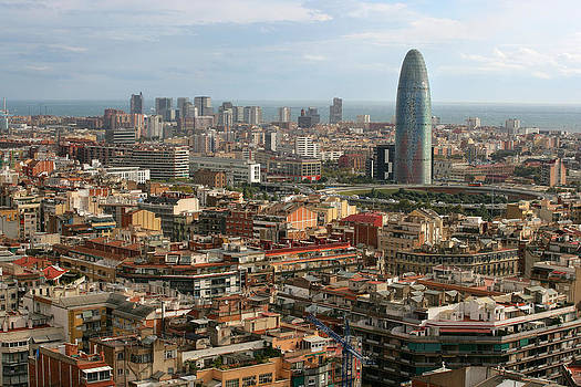 Cityscape of Barcelona by Ron Sumners