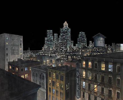 Cityscape by Richard Kilroy