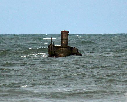 Civil War Shipwreck by Brian M Lumley