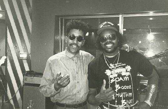 C.J.Chenier and Eric E by Otis L Stanley