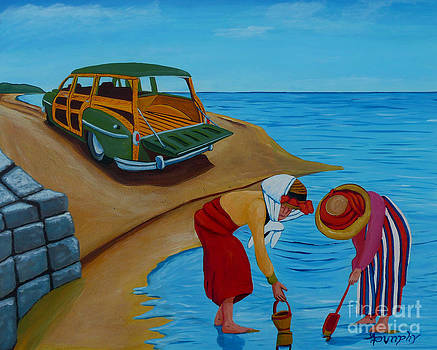 Clam Digging by Anthony Dunphy