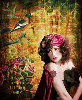 Clara Bow and the Bird by Cat Whipple