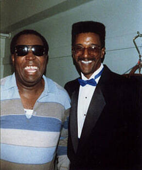 Clarence Carter with Eric E by Otis L Stanley