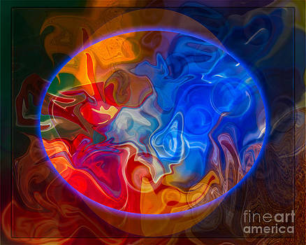 Omaste Witkowski - Clarity In The Midst of Confusion Abstract Healing Art