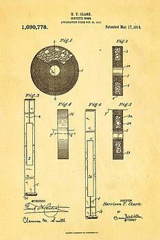 Ian Monk - Clark Confetti Bomb Patent Art 1914