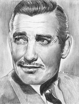 Clark Gable by Mick ODay