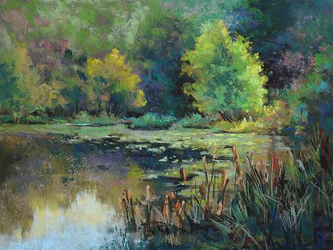 Clark Pond by Cristine Sundquist