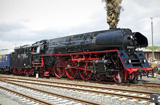 Class 01 steam locomotive Germany by David Davies