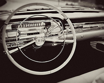 Lisa Russo - Classic Cadillac Steering Wheel and Dash Take the Wheel