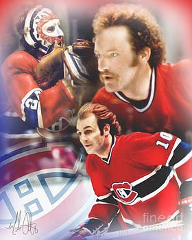 Classic Canadiens by Mike Oulton
