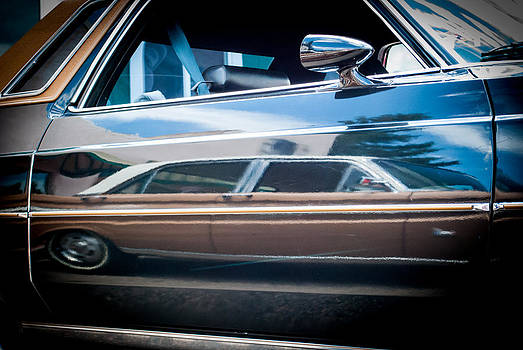 Classic Car Reflection by Shanna Lewis