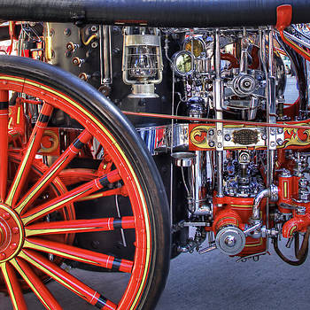 Classic Fire Engine Detail by Richard Hinds