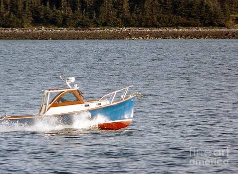 Christine Stack - Classic Lobster Boat
