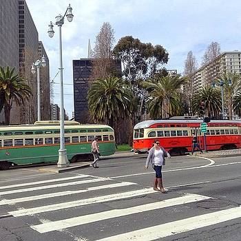 Classic Transportation In San Francisco by Karen Winokan