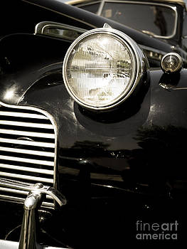 Edward Fielding - Classic Vintage Car Black and White