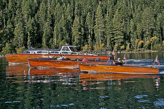 Steven Lapkin - Classic Wooden Boats at Lake Tahoe