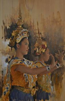 Classical Thai Dancers by Phil Couture
