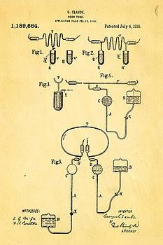 Ian Monk - Claude Neon Patent Art 1916