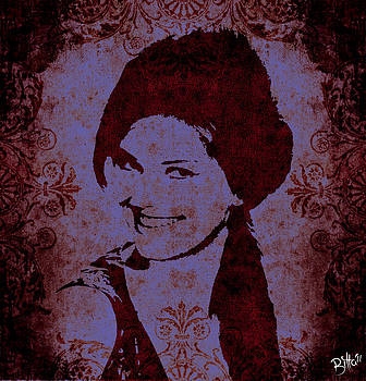 Claudia Cardinale by Bitta -  Silvia Mariottini