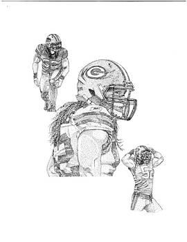 Clay Matthews 52 by Joe Rozek