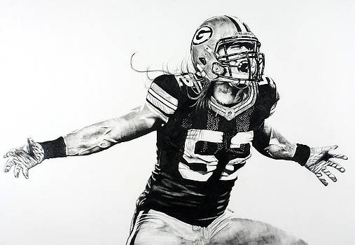 Clay Matthews by Jake Stapleton