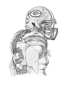 Clay Matthews by Joe Rozek
