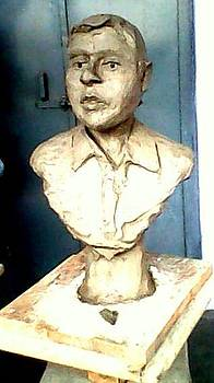 Clay Portrait  by Hihani Gautam