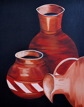Clay Pots by Sonali Kukreja