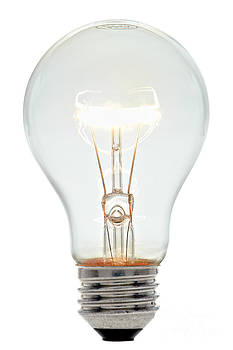 Clear Light Bulb by Olivier Le Queinec