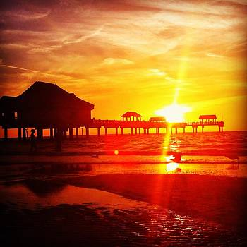 Clearwater Beach by Shara  Wright