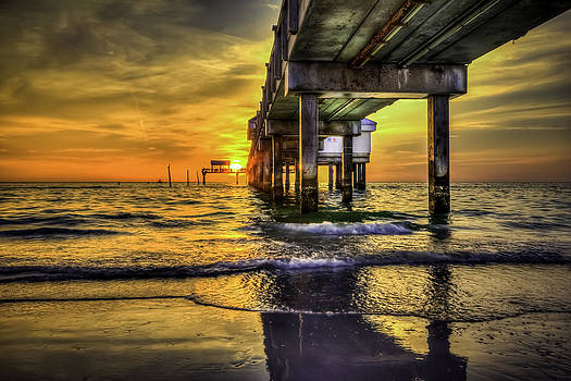 Clearwater Pier by Marvin Spates