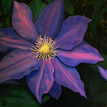 Clematis Royale by Lindi Levison