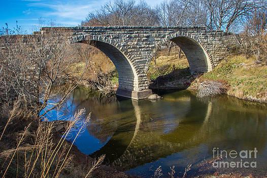 Clements Stone Arch Bridge by Jim McCain