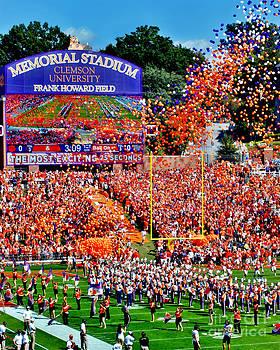 Jeff McJunkin - Clemson Tigers Memorial Stadium