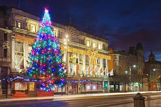 Clerys O Connell Street - Dublin by Barry O Carroll