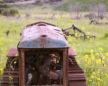 William Havle - Cletrac Tractor in Fairfield