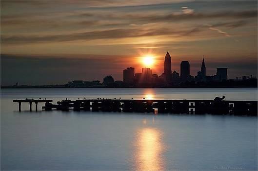 Clevealnd Sunrise by Daniel Behm