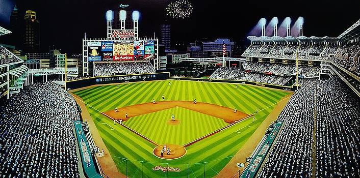 Cleveland Jackobs Nocturn Fireworks by Thomas  Kolendra